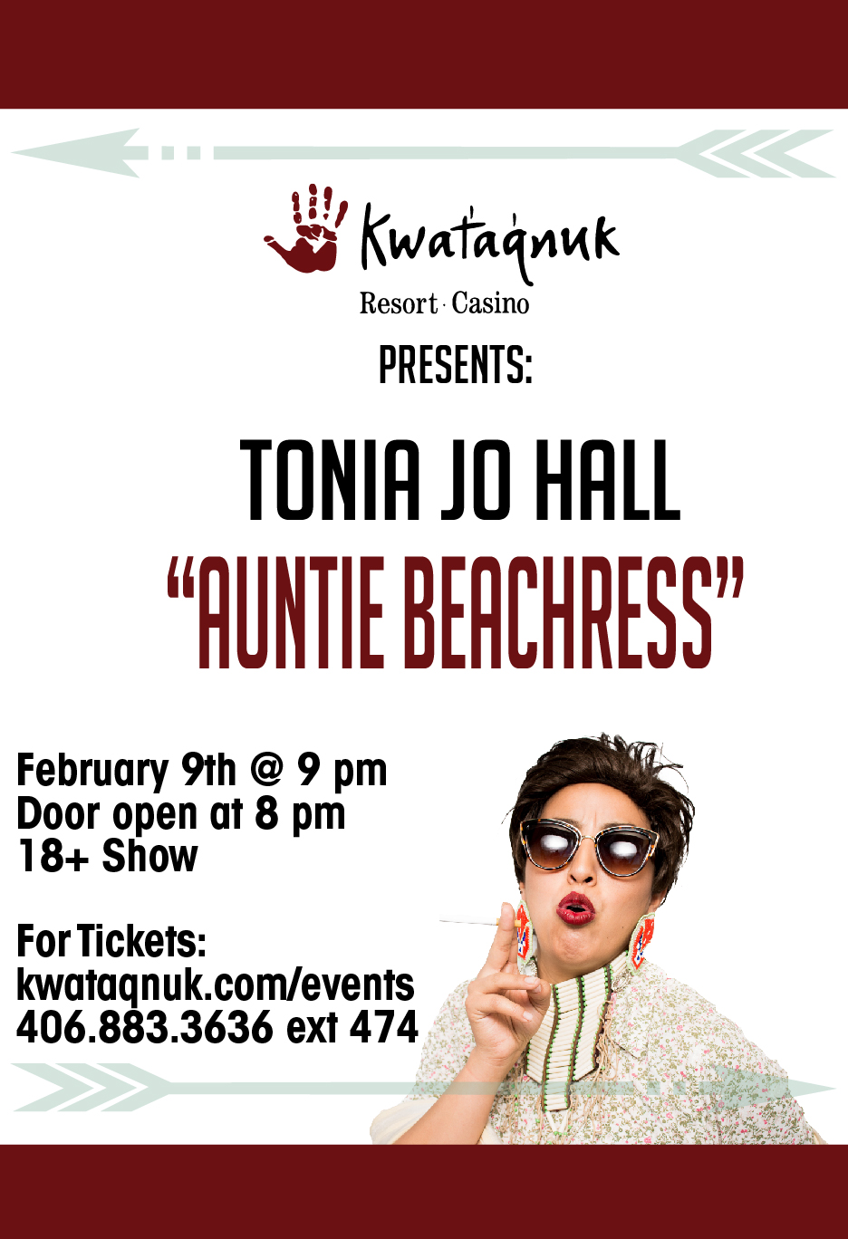 Tonia Jo Hall Quot Auntie Beachress Quot Kwataqnuk